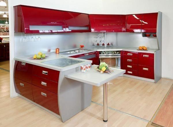 отделка стен на кухне: варианты оформления