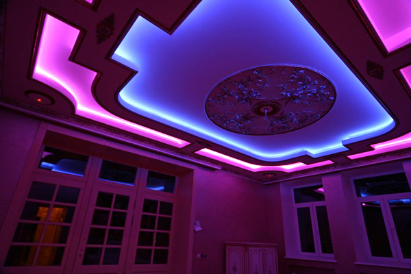 как установить светодиодную подсветку своими руками
