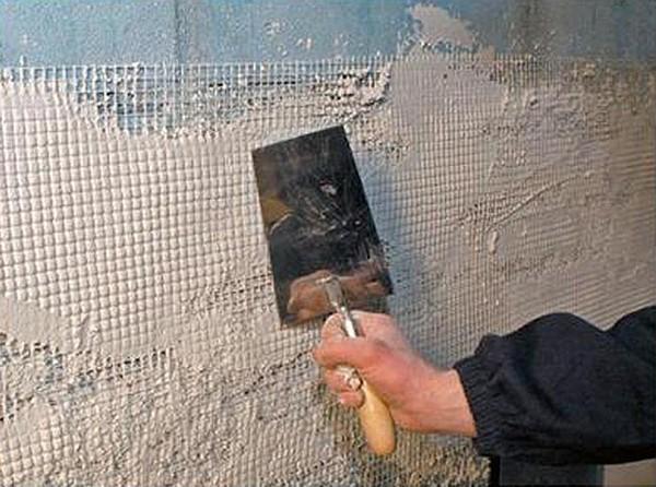 как применяется штукатурная стеклотканевая сетка