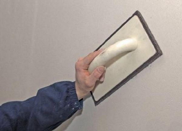 как зачистить шпаклевку своими руками фото