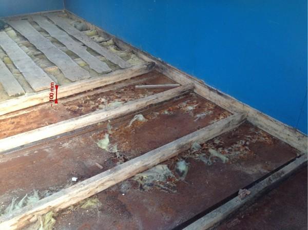 утепление деревянного пола первого этажа фото