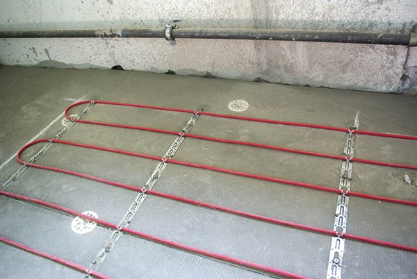 подогрев напольного покрытия системой теплый пол фото