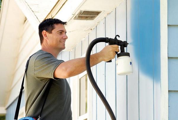 преимущества и недостатки краскопульта для водоэмульсионной краски