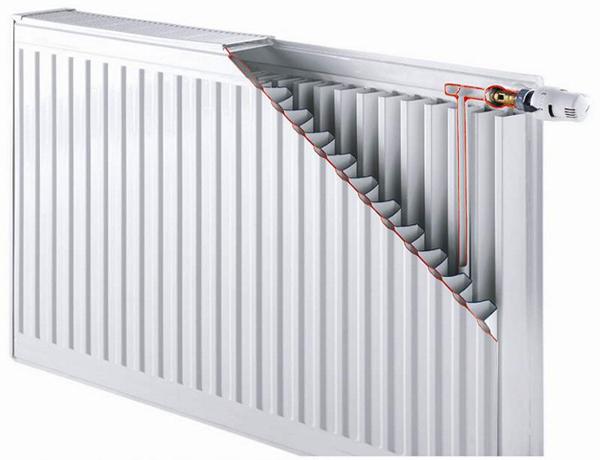 устройство панельных радиаторов отопления фото