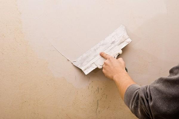 на каком этапе ремонта кухни шпаклюют стены