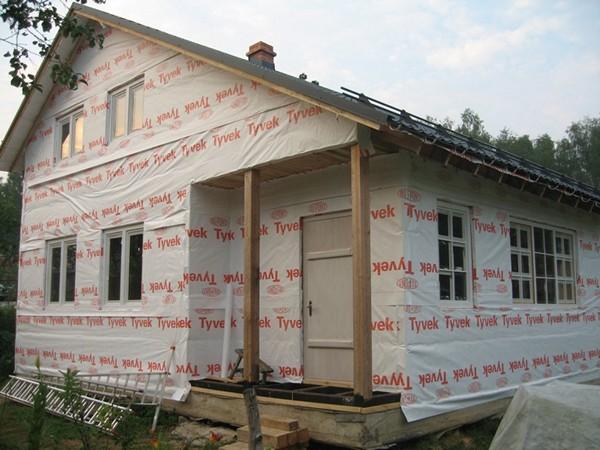 обшивка дома виниловым сайдингом с утеплением