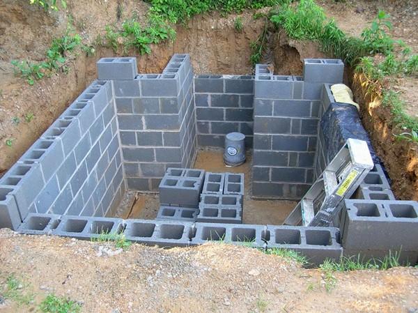 строительство погреба своими руками фото