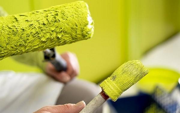 необходимые инструменты для покраски стен