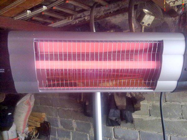 инфракрасный обогреватель для отопления гаража фото
