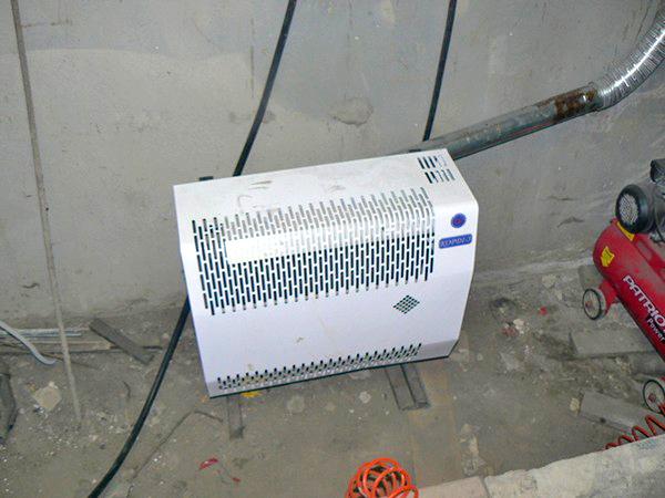 как сделать отопление гаража электричеством