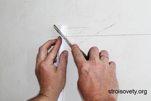 изготовление панно из обоев фото
