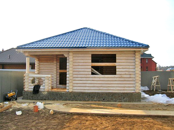 четырехскатная шатровая крыша фото
