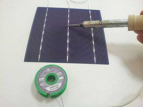 как изготовить солнечные батареи для частного дома фото