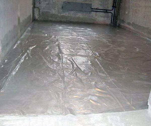 гидроизоляция пола в гараже фото