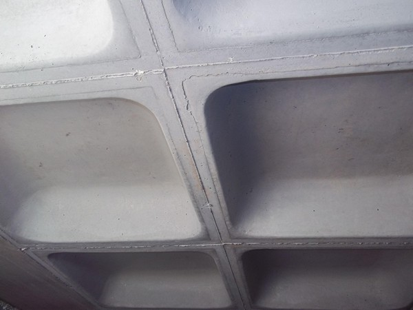 кессонные плиты перекрытия фото