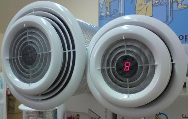 комнатные рекуператоры воздуха фото