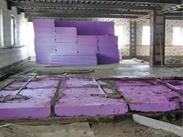 бетонный пол по грунту своими руками фото
