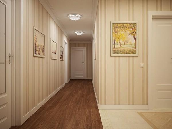 какие обои выбрать для коридора