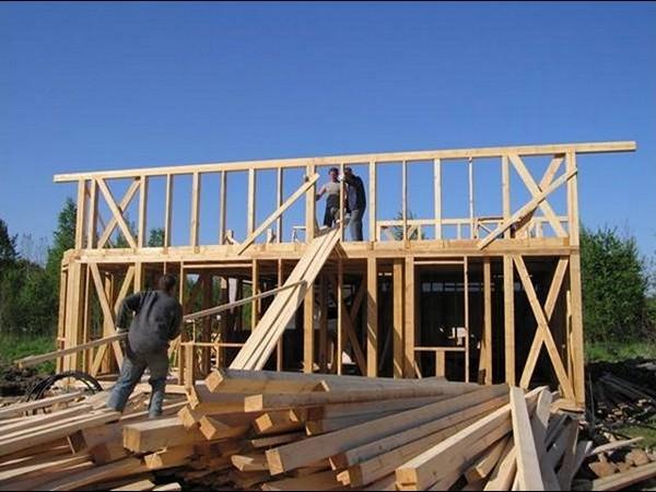 как построить дачный домик своими руками фото