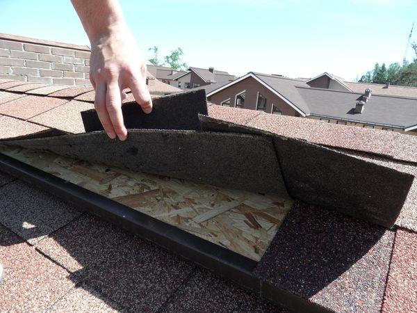 ремонт мягкой крыши фото