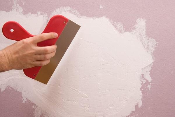 ремонт стен шпаклевка