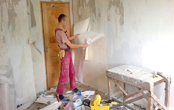 как выполнить ремонт стен своими руками фото