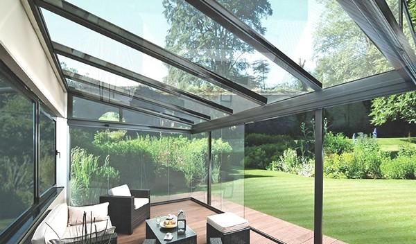 стеклянная крыша в доме фото