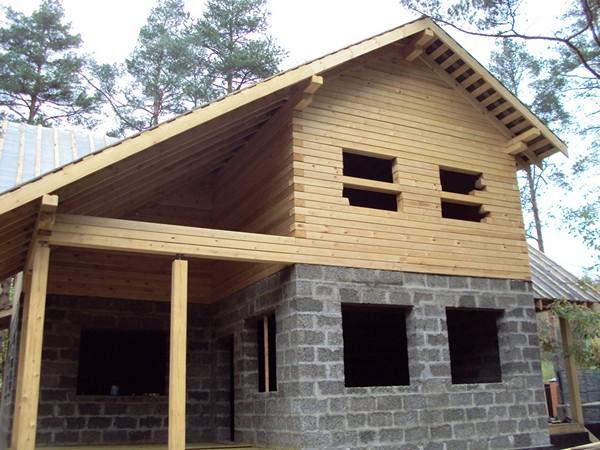дом из арболита фото