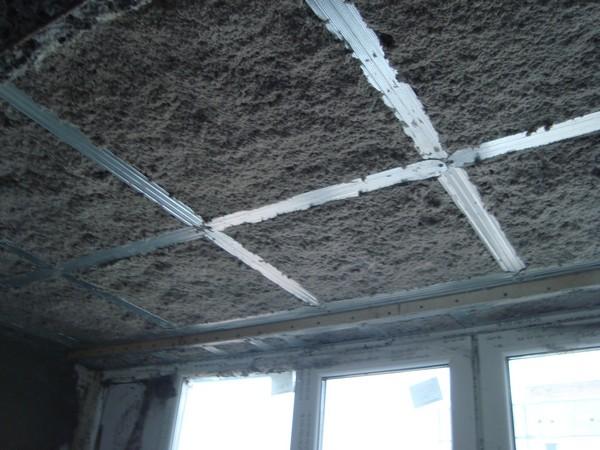 звукоизоляция потолка фото