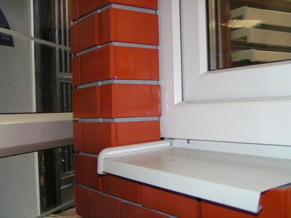 металлические отливы на окна фото
