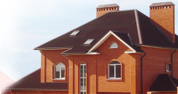 крыша из ондулина фото