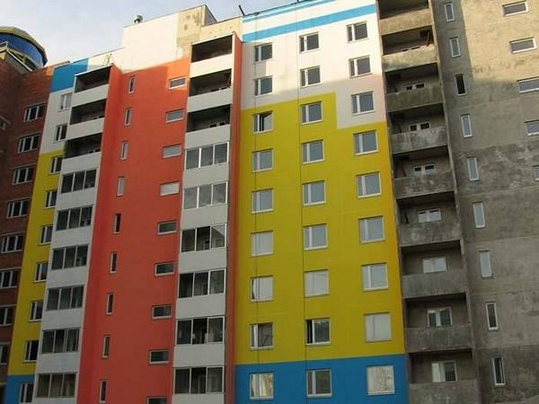 фасадная водоэмульсионная краска фото