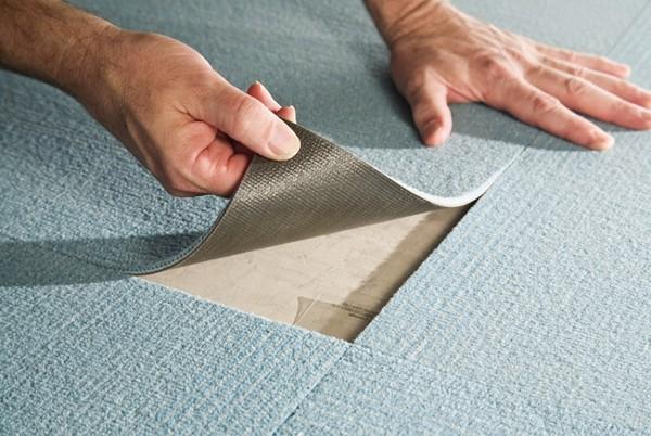 как укладывать ковровую плитку своими руками