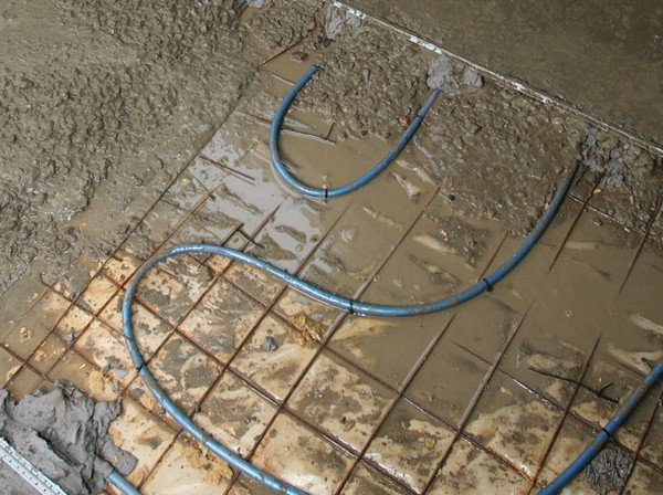 стяжка под водяной теплый пол фото