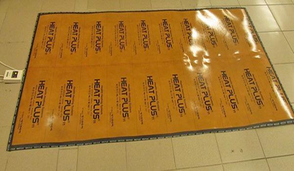 электрический теплый пол под ковер фото