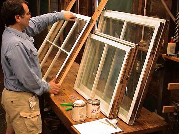 утепление старых деревянных окон фото