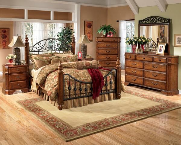 мебель для спальни кантри фото