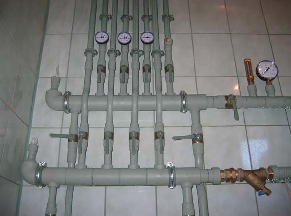 монтаж полипропиленовых труб своими руками фото