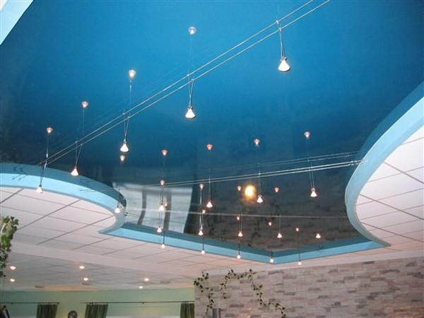 ремонт натяжного потолка своими руками фото