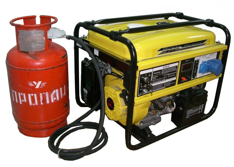 газовая электростанция для дома фото