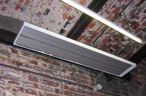 инфракрасный обогреватель для гаража фото