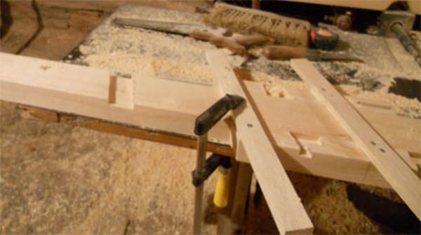 как сделать деревянную лестницу фото