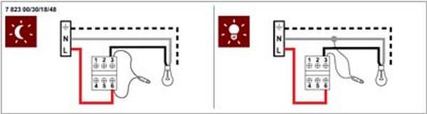 подключение выключателя с подсветкой фото