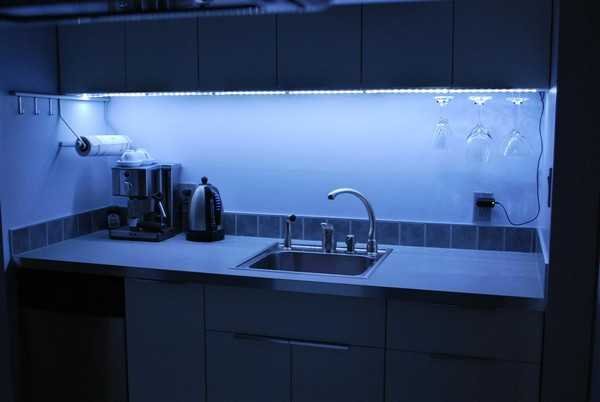 подсветка для кухни фото