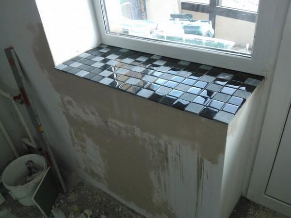 ремонт подоконников фото