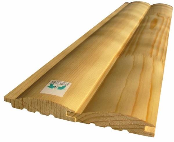 блок хаус деревянный фото