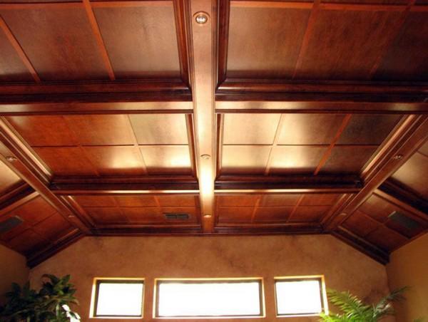 какой сделать потолок фото