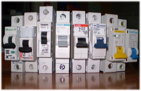 выбор автоматического выключателя фото