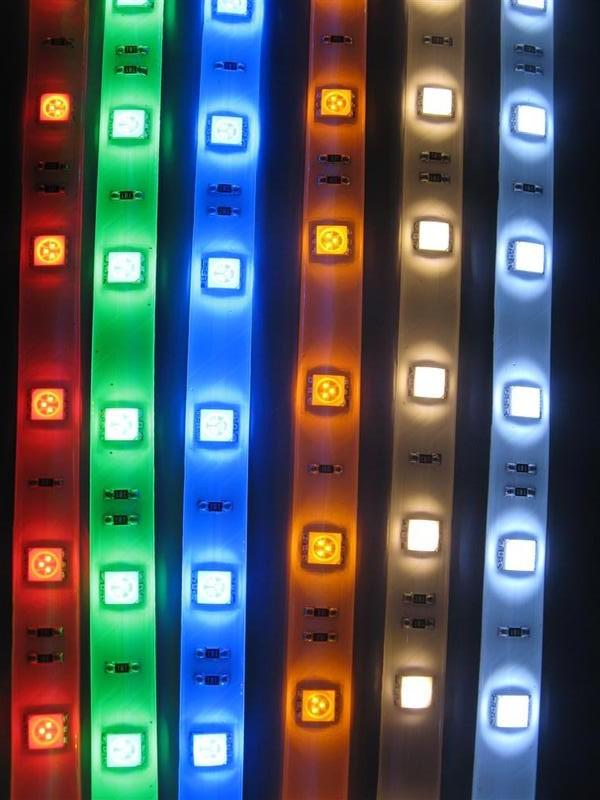 виды светодиодных лент фото