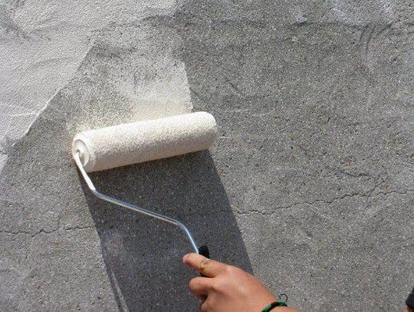 как наносить бетоноконтакт фото